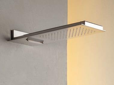 Wall-mounted rectangular rain shower FLOW.ERS 410.26.100