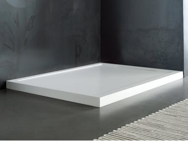 Custom Solid Surface Shower Tray FLOW | Shower Tray