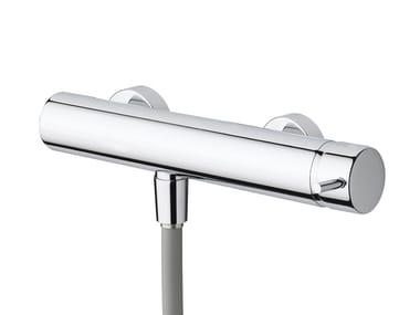 Chromed brass shower tap FLOW T1.40   Shower tap