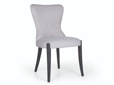 Upholstered fabric chair FLOWER 01