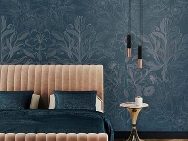 Revestimento de parede / Papel de parede FLOWER FANTASY BLUE