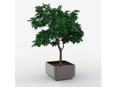 Galvanized steel Flower pot AIR | Flower pot