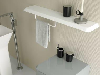 Toallero / estante para cuarto de baños FLUENT | Estante para cuarto de baños