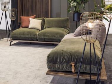 Fabric sofa FLUFFY UP