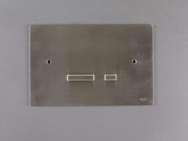 Stainless steel flush plate 4200151/2 | Flush plate