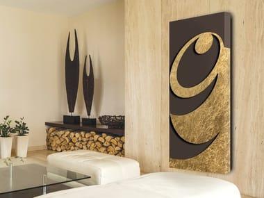 Aluminium radiator / decorative radiator FOGLIA D'ORO - DP 00505