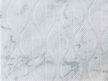 Marble wall/floor tiles FOGLIE CARRARA