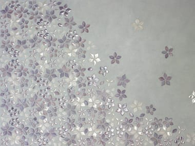 Glass mosaic FOGLIE FANTASIA