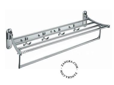 Stainless steel towel rack / bathroom wall shelf BATHROOM | Stainless steel towel rack