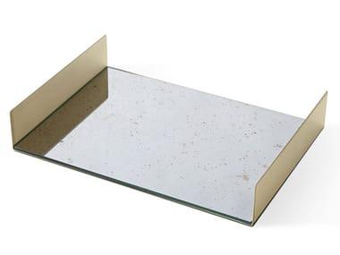 Rectangular crystal tray FOLDED TRAY