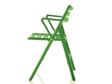 Silla plegable de polipropileno con brazos FOLDING AIR-CHAIR | Silla con brazos