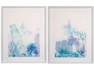 Paper Painting Fondo Marino I & II