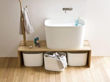 Panca in frassino da bagno FONTE | Panca da bagno