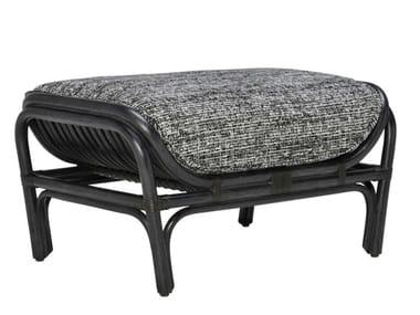 Rattan footstool KYOTO   Footstool