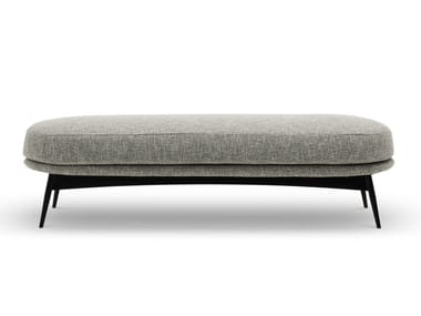 Upholstered fabric bench OLTREMARE | Bench