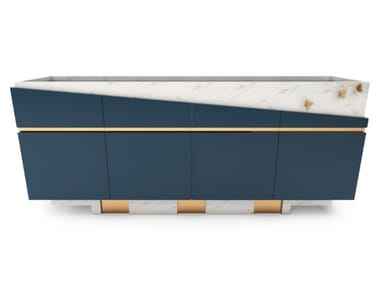 Lacquered sideboard FOREST