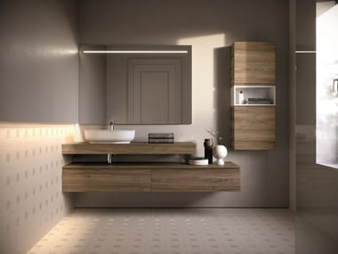 Wall-mounted vanity unit FORM 07