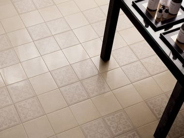 Porcelain stoneware wall/floor tiles with stone effect FORME AVORIO