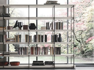 Double-sided bookcase FORTEBRACCIO