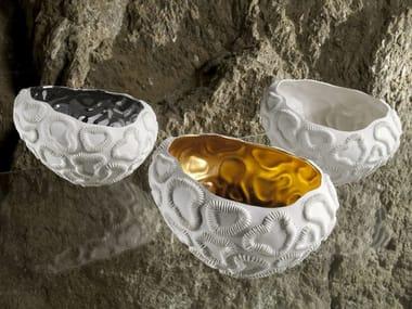 Porcelain serving bowl / centerpiece FOSSILIA BOWLS