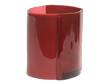 Vaso in resina FOUR LINES M