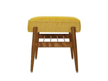 Low chenille stool FOX LOFT | Stool
