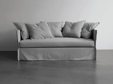 Canapé-lit en tissu avec revêtement amovible FOX   Canapé-lit