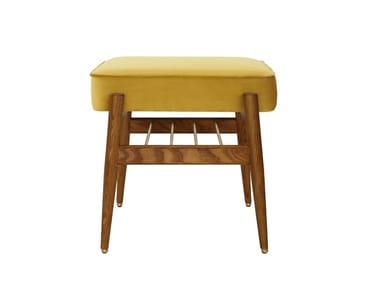 Low velvet stool FOX VELVET | Stool