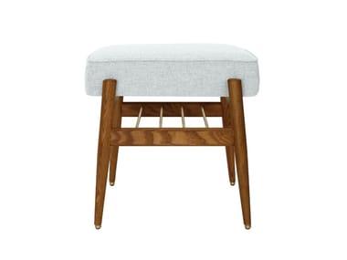Low wool stool FOX | Wool stool