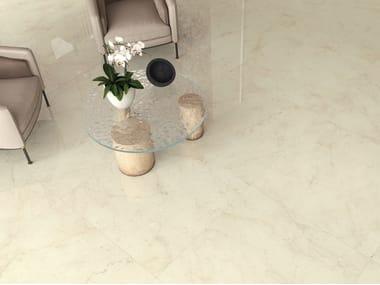 Pavimento/rivestimento in gres porcellanato effetto marmo FOYER ROYAL COZY
