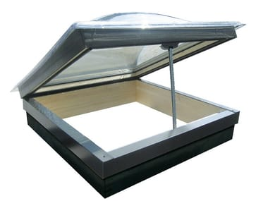 Top-hung Electrically operated wooden roof window FPP | Electrically operated roof window