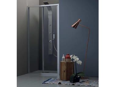 Box doccia a nicchia con porta a soffietto FPS30 | Box doccia a nicchia