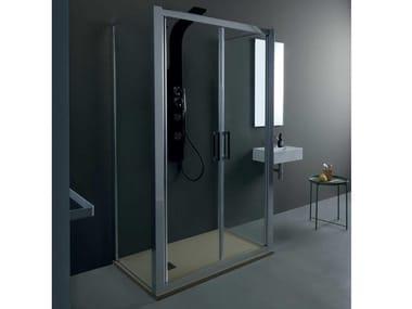 Box doccia centro stanza FPSL60 + FISSO | Box doccia centro stanza
