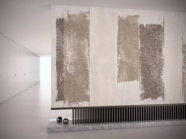 Carta da parati lavabile in vinile effetto tessuto FRAGMENT
