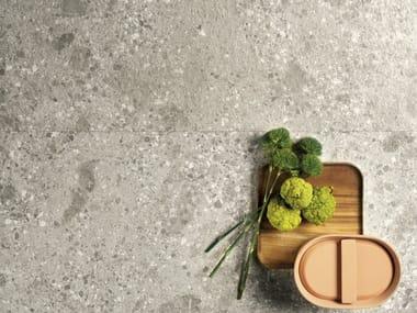 Pavimento/rivestimento in gres porcellanato effetto pietra FRAGMENTA FULL BODY BOTTICINO DORATO