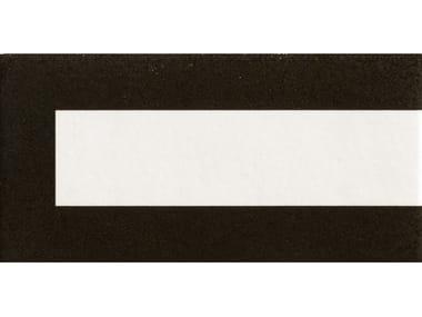 Pavimento/rivestimento in gres porcellanato smaltato FRAME BLACK