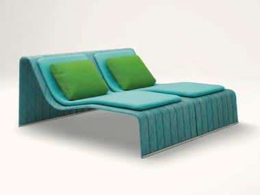 Gartenbett aus Polyester FRAME | Gartenbett