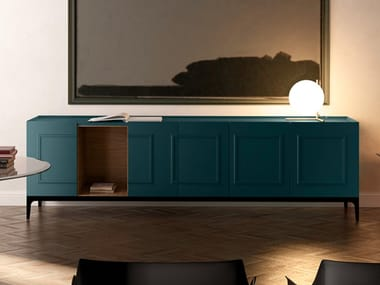 Lacquered sideboard with doors FRAME | Lacquered sideboard