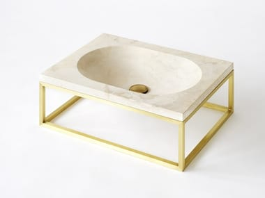 Waschbecken aus Stein | Archiproducts