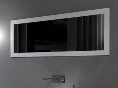 Framed wall-mounted bathroom mirror FRAME