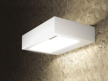 LED plaster wall lamp FRAME SQUARE