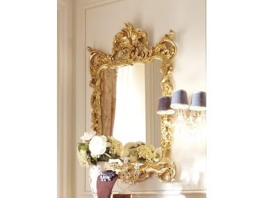 Rectangular framed wall-mounted mirror DAVID | Framed mirror