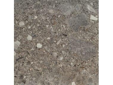 Pavimento/rivestimento in gres porcellanato effetto pietra FRAMMENTA ANTRACITE