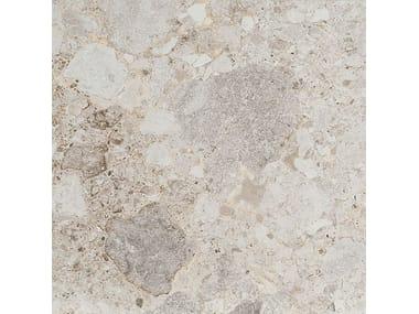 Pavimento/rivestimento in gres porcellanato effetto pietra FRAMMENTA BIANCO