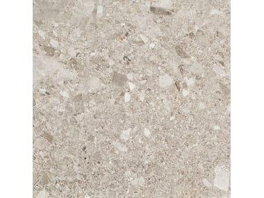 Pavimento/rivestimento in gres porcellanato effetto pietra FRAMMENTA GRIGIO CHIARO
