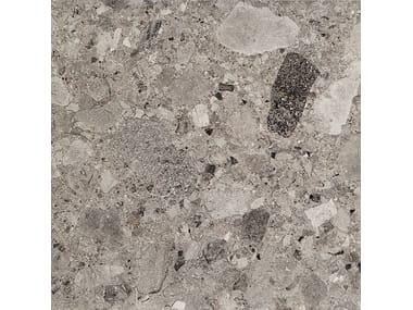 Pavimento/rivestimento in gres porcellanato effetto pietra FRAMMENTA GRIGIO SCURO