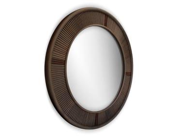 Round framed mirror FRANCIS