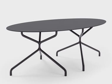 Oval HPL contract table FRED | Table