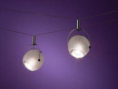LED adjustable Borosilicate glass spotlight FREDGINGER