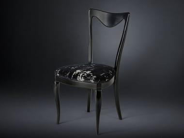 Open back wooden chair FRIDA